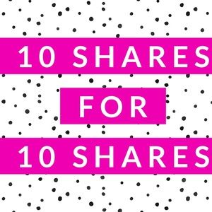 Share 10 of my items, and I'll Share 10 of yours!